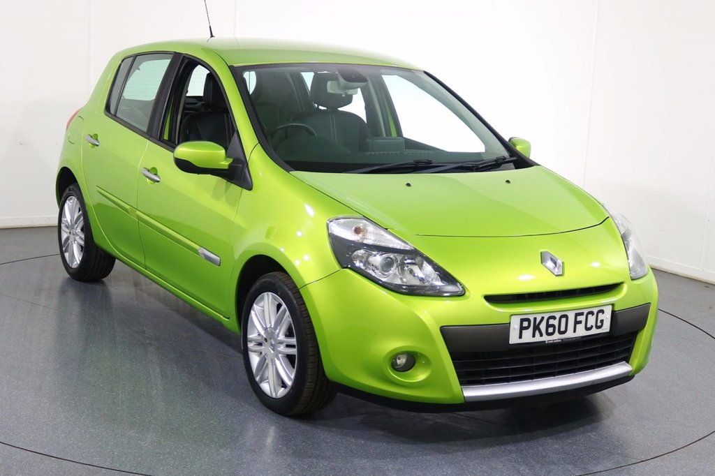 USED 2010 60 RENAULT CLIO 1.6 INITIALE TOMTOM VVT 5d AUTO 111 BHP SAT NAV I BLUETOOTH I CLIMATE