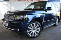 2012 LAND ROVER RANGE ROVER 4.4 TDV8 WESTMINSTER 5d AUTO 313 BHP £15999.00