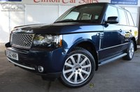 2012 LAND ROVER RANGE ROVER 4.4 TDV8 WESTMINSTER 5d AUTO 313 BHP £14999.00