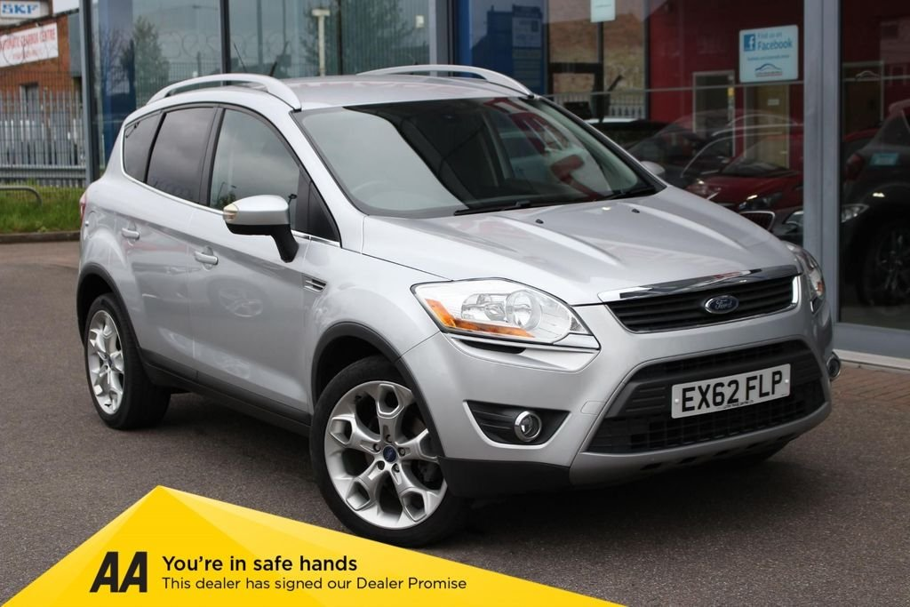 USED 2012 62 FORD KUGA 2.0 TDCI 140 TITANIUM 5DR 2WD LEATHER, DAB, CRUISE & 19 INCH ALLOYS