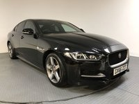 USED 2016 66 JAGUAR XE 2.0 R-SPORT 4d AUTO 178 BHP HISTORY - 1 OWNER - SAT NAV - CAMERA - PARKING SENSORS - LEATHER - AIR CON - BLUETOOTH - DAB - CRUISE