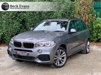 USED 2017 17 BMW X5 3.0 XDRIVE30D M SPORT 5d 255 BHP