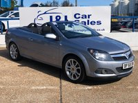 USED 2008 58 VAUXHALL ASTRA 1.8 TWIN TOP SPORT 3d 140 BHP