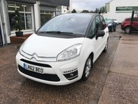 USED 2012 62 CITROEN C4 PICASSO 1.6 PLATINUM EGS E-HDI 5d AUTO 110 BHP 1 OWNER-FULL SERVICE HISTORY-AUTOMATIC-BLUETOOTH-DIESEL-ALLOYS