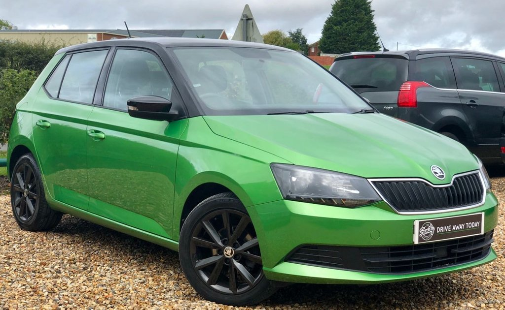 USED 2016 66 SKODA FABIA 1.2 COLOUR EDITION TSI 5d 89 BHP