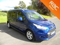 USED 2017 17 FORD GRAND TOURNEO CONNECT 1.5 TITANIUM TDCI 5d AUTO 118 BHP Automatic With 7 Seats! Alloy Wheels, Rear Parking Sensors, Cruise Control