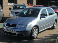USED 2006 56 SKODA FABIA 1.4 AMBIENTE TDI 5d 79 BHP AIR CONDITIONING PIPED INTO GLOVE BOX