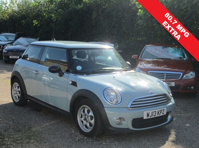 USED 2013 13 MINI HATCH ONE 1.6 ONE D 3d 90 BHP CLIMATE CONTROL AIR CONDITIONED