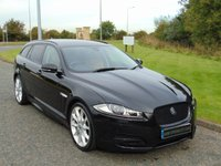 "USED 2013 63 JAGUAR XF 3.0 D V6 S PREMIUM LUXURY SPORTBRAKE 5d AUTO 275 BHP LONDON TAN LEATHER, 20""DRACO'S"