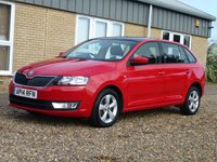 USED 2014 14 SKODA RAPID 1.2 SPACEBACK SE TSI 5d 104 BHP www.suffolkcarcentre.co.uk - Located at Reydon