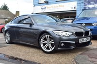 USED 2013 63 BMW 4 SERIES 2.0 420D M SPORT 2d AUTO 181 BHP COMES WITH 6 MONTHS WARRANTY