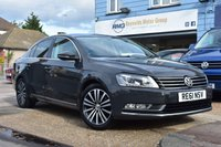 USED 2011 61 VOLKSWAGEN PASSAT 2.0 SPORT TDI BLUEMOTION TECHNOLOGY 4d 139 BHP COMES WITH 6 MONTHS WARRANTY