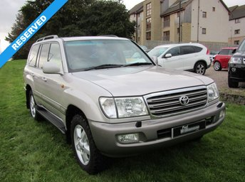View our TOYOTA LAND CRUISER AMAZON