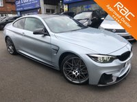 2017 BMW M4 3.0 M4 COMPETITION PACKAGE 2d AUTO 444 BHP £37490.00