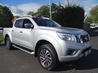 USED 2016 16 NISSAN NP300 NAVARA TEKNA 4X4 DOUBLE CAB 2.3 DCI 190 BHP Direct From Leasing Company With 41000 Miles, Top Of Range Model With Additional Glazed Hard Top!