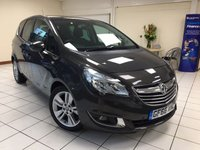 USED 2016 66 VAUXHALL MERIVA 1.4 SE 5d AUTO 118 BHP ONE OWNER / 1.4 PETROL / AUTOMATIC / VERSATILE FLEX-5 SEATING / BLUETOOTH / PANORAMIC ROOF / SERVICE HISTORY