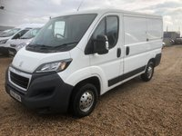USED 2016 16 PEUGEOT BOXER 2.0 BLUE HDI 330 L1H1 P/V 110 BHP EURO 6 * DIRECT FROM PEUGEOT CONTRACTS * 3 STAMPS IN THE SERVICE BOOK