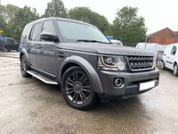 USED 2016 16 LAND ROVER DISCOVERY 4 3.0 SDV6 GRAPHITE 5d AUTO 255 BHP COMPANY DIRECTOR'S CAR