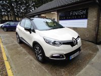 USED 2015 65 RENAULT CAPTUR 1.5 DYNAMIQUE S NAV DCI 5d 90 BHP * FULL RENAULT SERVICE HISTORY * 1 PRIVATE KEEPER * SAT-NAV * ZERO ROAD TAX * 2 KEYS *