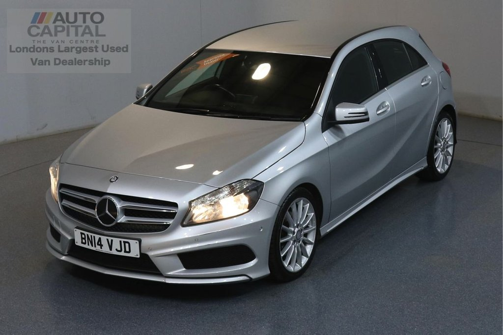 USED 2014 MERCEDES-BENZ A CLASS A200 CDI BLUE EFFICIENCY AMG SPORT AUTO AIR CON, SAT NAV, ALLOY WHEEL, F-R PARKING SENSORS
