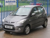 USED 2011 11 HYUNDAI I10 1.2 COMFORT 5d 77 BHP Ideal 1st Car with History