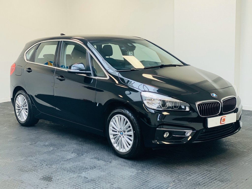 USED 2017 67 BMW 2 SERIES XE LUXURY PHEV AUTO *LEFT HAND DRIVE* LEFT HAND DRIVE + HYBRID ELECTRIC + ONLY 2000 MILES !!
