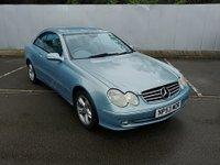 2003 MERCEDES-BENZ CLK 2.6 CLK240 AVANTGARDE 2d AUTO 170 BHP £1995.00