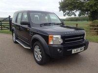 2007 LAND ROVER DISCOVERY 2.7 3 TDV6 SE 5d AUTO 188 BHP £6450.00