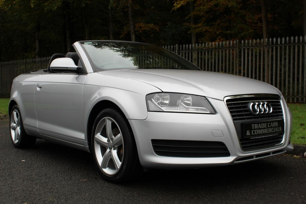 USED 2010 10 AUDI A3 1.6 TDI TECHNIK 2d 103 BHP A CLEAN AND WELL MAINTAINED EXAMPLE WITH A RECENT TIMING BELT CHANGE!!!