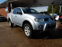 USED 2010 60 MITSUBISHI L200 2.5 DI-D 4X4 BARBARIAN LB DCB 175 BHP NO VAT,SAT NAV,REAR CAMERA,BLUETOOTH,AIR CON,GREAT HISTORY