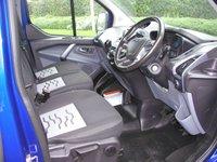 USED 2017 66 FORD TRANSIT CUSTOM 2.0 270 LIMITED LR 168 BHP VAN - WITH SPORT KIT - NO VAT - SOLD Sport Body Kit, SATNAV, Air Con, 49000 miles, Service History