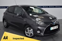 USED 2016 66 TOYOTA YARIS 1.5 VVT-I ICON M-DRIVE S 5d AUTO 75 BHP (ONE OWNER - FULL TOYOTA HISTORY)