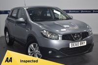 USED 2010 60 NISSAN QASHQAI 1.6 ACENTA 5d 115 BHP (5 STAMP NISSAN SERVICE HISTORY)