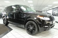 USED 2014 14 LAND ROVER RANGE ROVER SPORT 3.0 SDV6 HSE DYNAMIC AUTO 288 BHP PAN ROOF DEPLOY STEPS & TOWBAR
