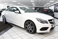 USED 2015 65 MERCEDES-BENZ E CLASS 2.1 E220 BLUETEC AMG LINE PLUS PACK AUTO POLAR WHITE 19'S FMBSH LEATHER