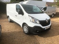 USED 2016 16 RENAULT TRAFIC 1.6 SL27 BUSINESS DCI S/R P/V 115 BHP ONE LEASING COMPANY OWNER * MAIN DEALER SERVICE HISTORY * SPARE KEY