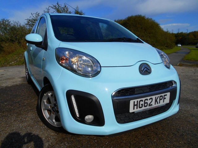 2012 62 CITROEN C1 1.0 VTR PLUS 5d 67 BHP **LOW MILEAGE**ONE PREVIOUS OWNER**£ZERO TAX*LOW INSURANCE**LOVELY CONDITION**