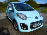 USED 2012 62 CITROEN C1 1.0 VTR PLUS 5d 67 BHP **LOW MILEAGE**ONE PREVIOUS OWNER**£ZERO TAX*LOW INSURANCE**LOVELY CONDITION**