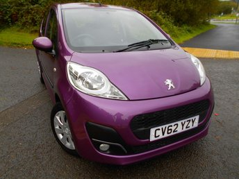2012 PEUGEOT 107 1.0 ACTIVE 5d 68 BHP** £ZERO ROAD TAX,  INSURANCE GROUP 3 , 67 MPG , ONE PREVIOUS OWNER, PERFECT FIRST CAR, ABSOLUTE BARGAIN £2995 !!  ** £2995.00