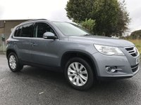 USED 2009 59 VOLKSWAGEN TIGUAN 2.0 SE TDI 4MOTION VERY WELL LOOKED AFTER FSH INC CAMBELT