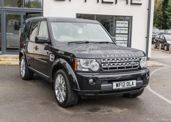 2012 LAND ROVER DISCOVERY 3.0 4 SDV6 HSE 5d AUTO 255 BHP £21990.00