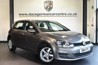 """USED 2014 14 VOLKSWAGEN GOLF 1.6 S TDI BLUEMOTION TECHNOLOGY 5DR 103 BHP full service history Finished in a stunning metallic grey styled with 15"""" alloys. Upon opening the drivers door you are presented with cloth upholstery, full service history, bluetooth, dab radio, heated mirrors, free road tax, air conditioning, media input"""