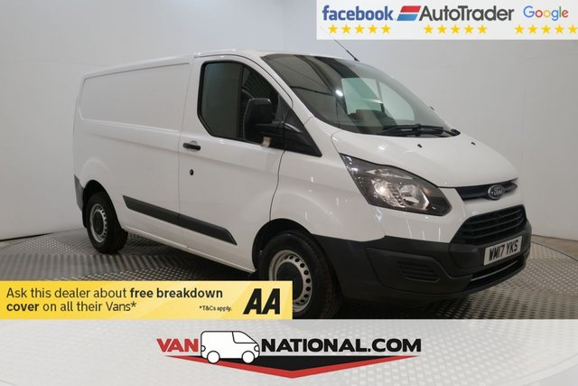 USED 2017 17 FORD TRANSIT CUSTOM 2.0 290 LR P/V 105 BHP L1 H1 SWB (EURO 6 ULEZ) * 1 OWNER * EURO 6 * ZERO DEPOSIT FINANCE AVAILABLE *