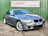 2013 BMW 3 SERIES 2.0 320D M SPORT 2d AUTO 181 BHP £10500.00