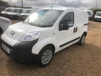 USED 2016 16 PEUGEOT BIPPER 1.2 HDI PROFESSIONAL 79 BHP AIR/CON * SAT/VAN * DIRECT FROM PEUGEOT * 3 MAIN DEALER SERVICE STAMPS
