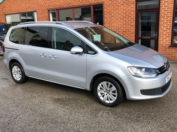 2016 VOLKSWAGEN SHARAN 2.0 SE TDI BLUEMOTION TECHNOLOGY 5d 148 BHP £11995.00