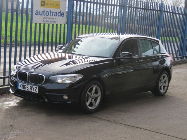 USED 2015 65 BMW 1 SERIES 1.5 116D ED PLUS 5dr Sat nav Bluetooth & audio Cruise DAB Finance arranged Part exchange available Open 7 days