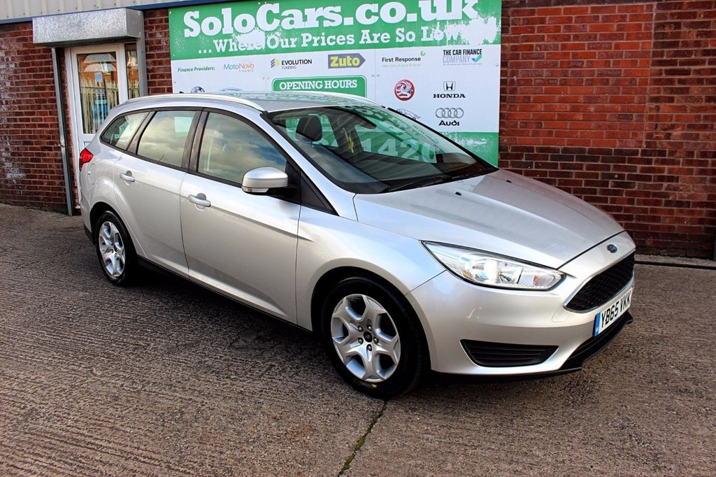 USED 2015 65 FORD FOCUS 1.5 STYLE TDCI 5d 94 BHP +ONE OWNER +FREE TAX +SERVICED