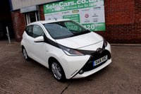 USED 2016 16 TOYOTA AYGO 1.0 VVT-I X-PRESSION 5d 69 BHP +ONE OWNER +FREE TAX +SERVICED
