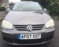 USED 2007 07 VOLKSWAGEN GOLF 1.6 MATCH FSI 5d 114 BHP